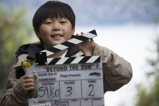 Beyond the Sun: un'immagine dal set del film statunitense