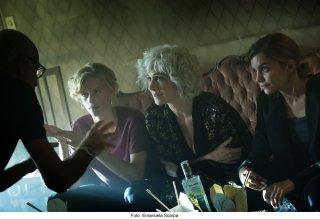 Il ragazzo invisibile - Seconda generazione: Gabriele Salvatores, Ksenia Rappoport, Ludovico Girardello e Galatéa Bellugi sul set del film