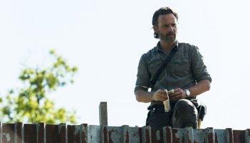 The Walking Dead: una scena dell'episodio Mercy