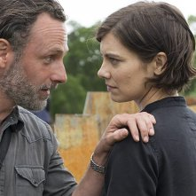The Walking Dead: Andrew Lincoln e Lauren Cohan nell'episodio Mercy