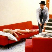 Il disprezzo: Brigitte Bardot e Michel Piccoli in una scena del film