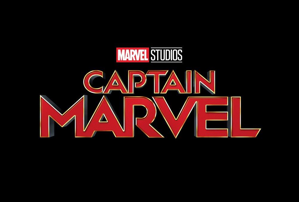 Captain Marvel: il nuovo logo del film