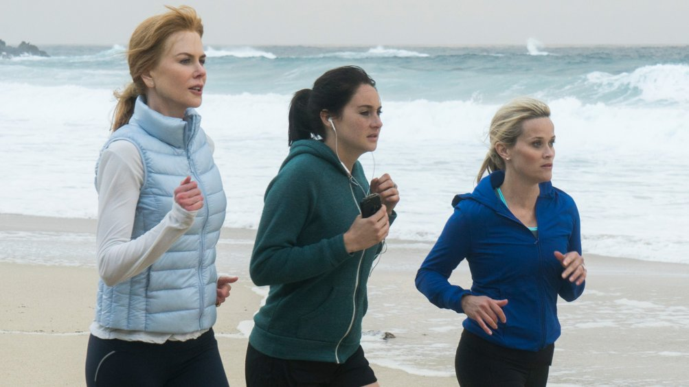 Big Little Lies: Nicole Kidman, Shailene Woodley e Reese Witherspoon in una foto della serie