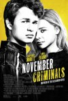 Locandina di November Criminals