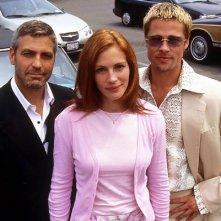 Ocean's Eleven: George Clooney, Brad Pitt e Julia Roberts