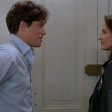 Notting Hill: Julia Roberts e Hugh Grant in una scena