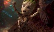 Avengers: Infinity War, Teen Groot darà a Rocket una ragione per essere geloso