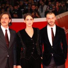 Roma 2017: Valentina Bellè, Luca Marinelli e Lorenzo Richelmy  sul red carpet di Una questione privata