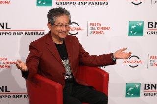 Roma 2017: Go Nagai posa al photocall di Mazinger Z Infinity