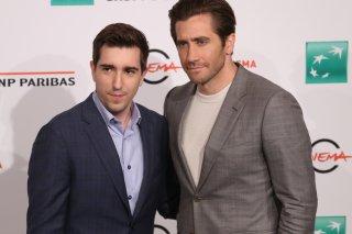 Roma 2017: Jake Gyllenhaal e Jeff Bauman al photocall del film Stronger