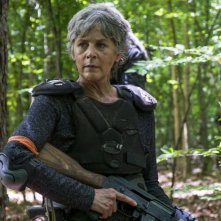The Walking Dead: una scena con Melissa McBride nell'episodio The Damned