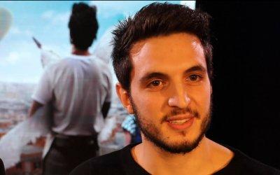 Giacomo Ferrara: da Spadino in Suburra a panettiere in Guarda in alto