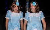 Bruce Willis è una delle due gemelline di Shining per Halloween