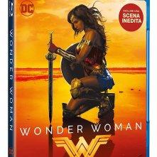 Il blu-ray di Wonder Woman