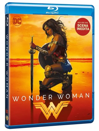 Il blu-ray di Wonder Woman