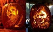 Halloween 2017: The Walking Dead e Pennywise tra le zucche intagliate più spettacolari