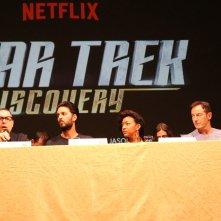 Lucca 2017: Sonequa Martin-Green, Jason Isaacs, Shazad Latif e Aaron Harberts al panel di Star Trekk Discovery