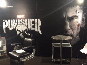Lucca 2017: la parte del padiglione di Netflix dedicata a The Punisher