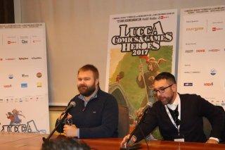 Lucca 2017: Robert Kirkman all'incontro con la stampa