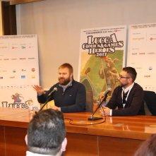 Lucca 2017: Robert Kirkman risponde alle domande durante l'incontro con la stampa