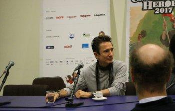 Lucca 2017: Dominic Keating all'incontro con la stampa