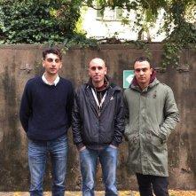 La profezia dell'armadillo: Michele Rech insieme a Simone Liberati e Pietro Castellitto