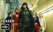 Crisis on Earth-X Crossover Teaser - The Flash, Arrow, Supergirl, DC's Legends of Tomorrow