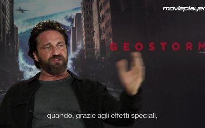 Geostorm: Video intervista a Gerard Butler