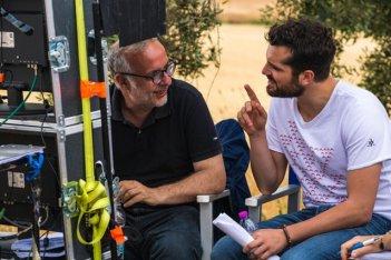 Sono tornato: Luca Miniero e Frank Matano sul set