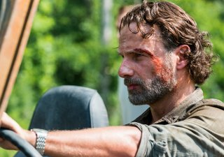 The Walking Dead: Andrew Lincoln in una foto dell'episodio Some Guy