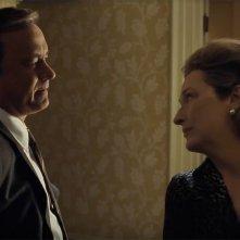 The Post: Tom Hanks e Meryl Streep in una scena