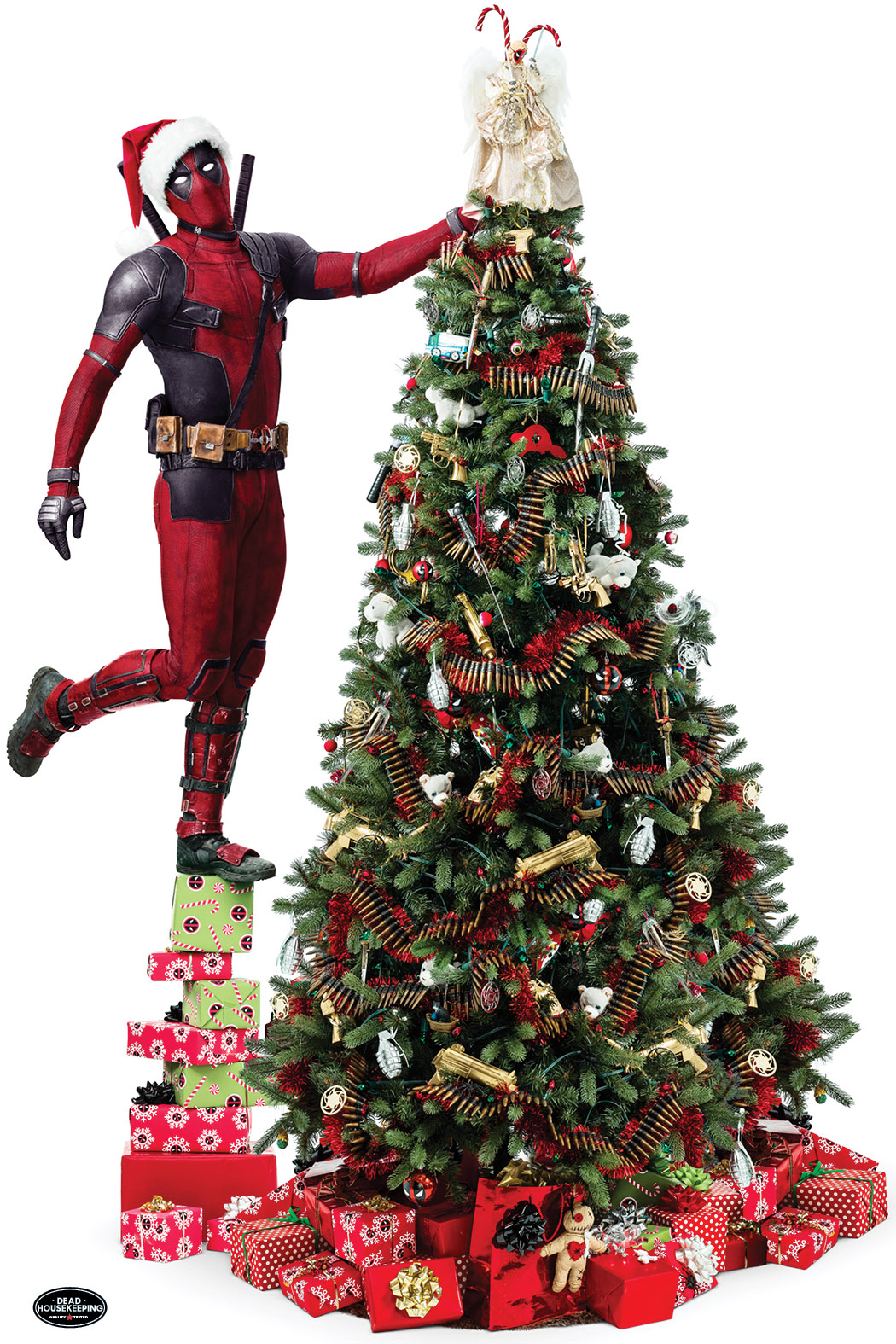 1510339739 Deadpool Christmas Tree