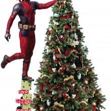 Deadpool 2: il mercenario prepara l'albero di Natale
