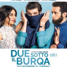 Due sotto il burqa, poster esclusivo