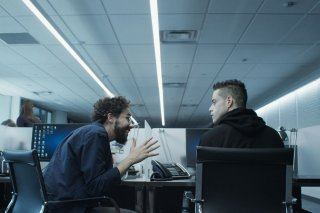 Mr. Robot: un momento dell'episodio eps3.4_runtime-err0r.r00