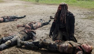 The Walking Dead: una scena drammatica dell'episodio Some Guy