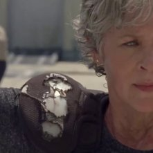 The Walking Dead: Melissa McBride in un momento dell'episodio Some Guy