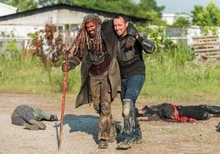The Walking Dead: Khary Payton in una scena