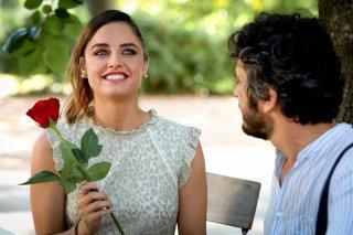 La casa di famiglia: Matilde Gioli e Michele Venitucci in una scena del film