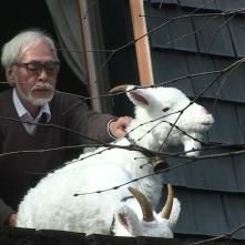 Never Ending Man: Hayao Miyazaki, Miyazaki in un'immagine tratta dal documentario