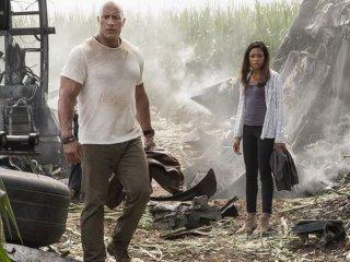 Rampage: Dwayne Johnson e Naomie Harris in una foto del film