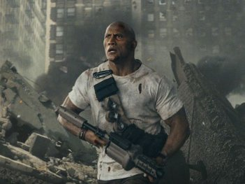 Rampage: Dwayne Johnson in una foto del film