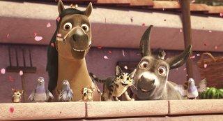 Gli eroi del Natale: un momento del film d'animazione