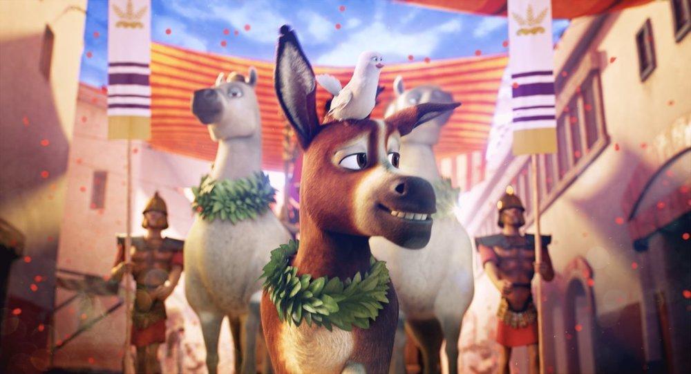Gli eroi del Natale: un momento del film animato