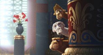Gli eroi del Natale: un'immagine del film d'animazione