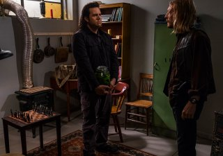 The Walking Dead: Josh McDermitt e Austin Amelio in The Big Scary U