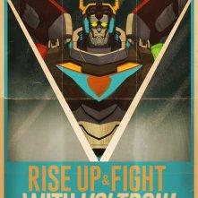 Voltrono: Legendary Defender, un poster della serie