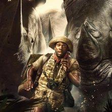 Jumanji: Benvenuti nella giungla, il character poster di Kevin Hart