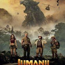 Jumanji: Benvenuti nella giungla, un nuovo poster del film