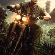 Jumanji: Benvenuti nella giungla, il character poster di Dwayne Johnson